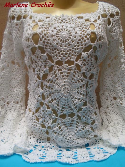 Великолепные блузы и схемы