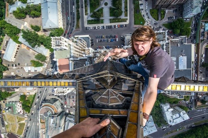Эффектные изображения с крыш советских домов