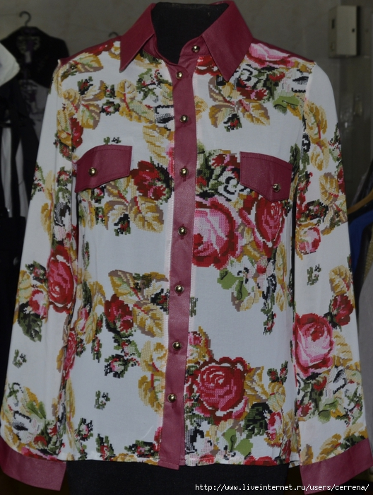 Блузки С Цветочным Принтом В Волгограде
