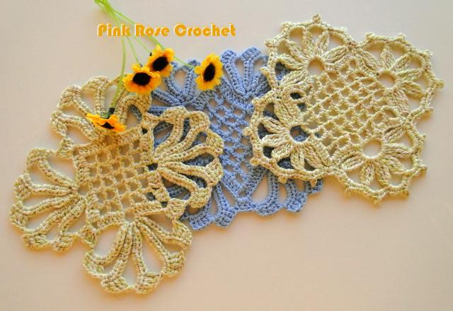 Centrinhos Quadradinhos de Croche Crochet Granny Squares - (640x440, 554Kb)