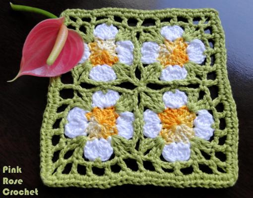 Quadradinho de Croche Crochet Granny Squares (510x400, 494Kb)