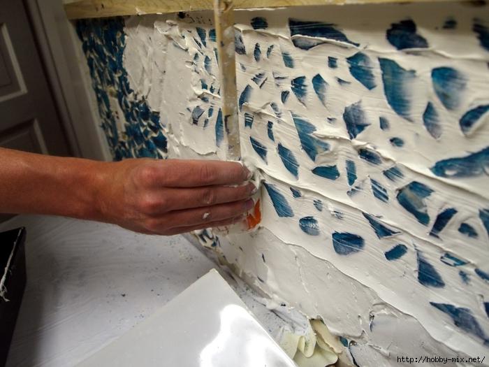 Grouting your Mosaic Backsplash {Sawdust and Embryos}[4] (700x525, 271Kb)