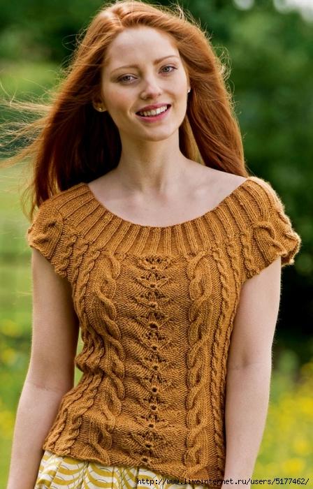 Вязание спицами для женщин все самое интересное в блогах 172