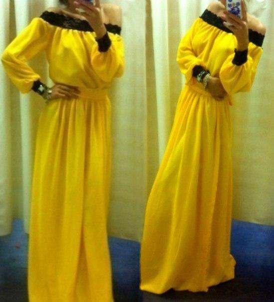 Сшить платье с длинным рукавом своими руками