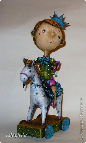 Принц с принцессой из папье-маше. Мастер-классы (30) (290x480, 100Kb)