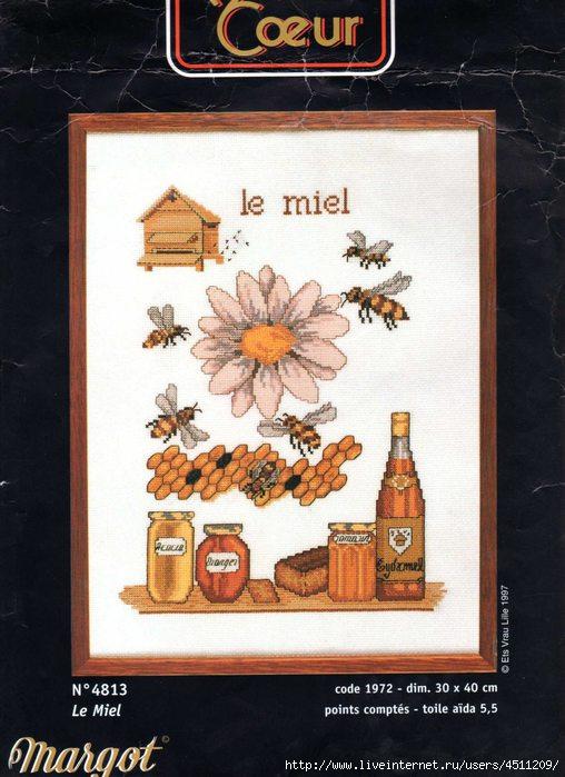 Margot 4813 - Le Miel (508x700, 187Kb)