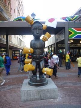 Клоун и Южная Африка