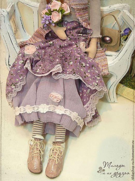 Платье тильды фото