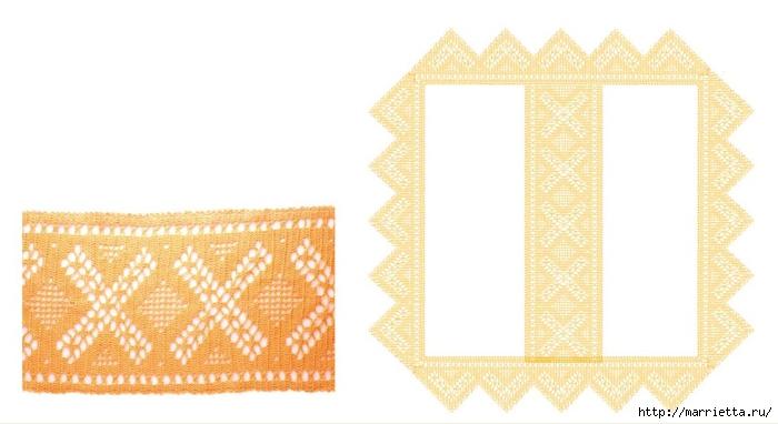 Обвязка крючком скатерти и детского кухонного полотенца (1) (700x382, 141Kb)