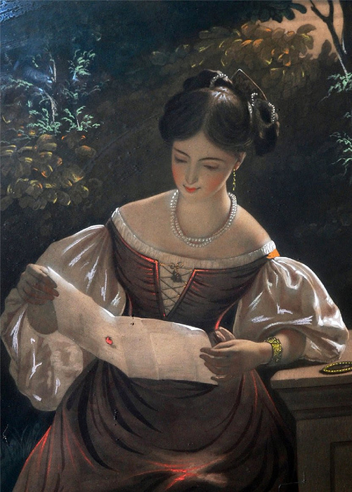 4.John J. Graham (1923-1994) - The Love Letter (501x700, 389Kb)