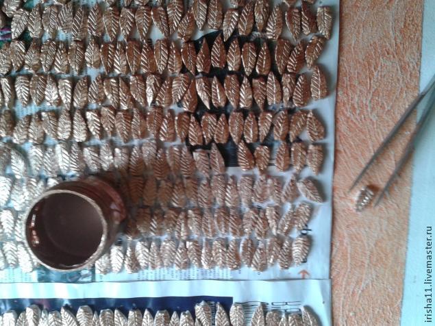 Baldosas de yeso chimenea ajuste floral hecho en casa (9) (635x476, 313Kb)