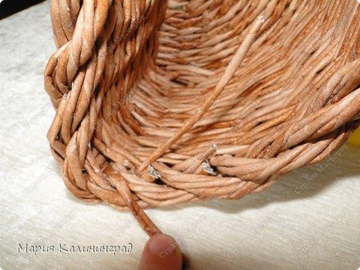 Красивая загибка для плетенок из газетных трубочек. Мастер-класс (31) (520x390, 184Kb)