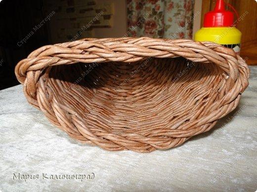 Красивая загибка для плетенок из газетных трубочек. Мастер-класс (33) (520x390, 183Kb)