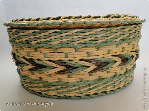 Очень красивые плетенки из газет от Марии Калининград (21) (520x390, 178Kb)