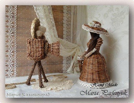 Очень красивые плетенки из газет от Марии Калининград (32) (520x400, 191Kb)