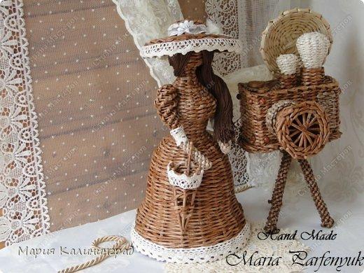 Очень красивые плетенки из газет от Марии Калининград (34) (520x390, 212Kb)