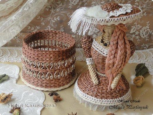 Очень красивые плетенки из газет от Марии Калининград (54) (520x390, 216Kb)