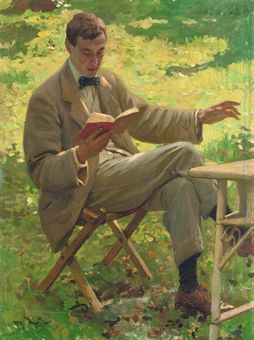 AlfredMunnings_by_HaroldKnight (254x340, 21Kb)
