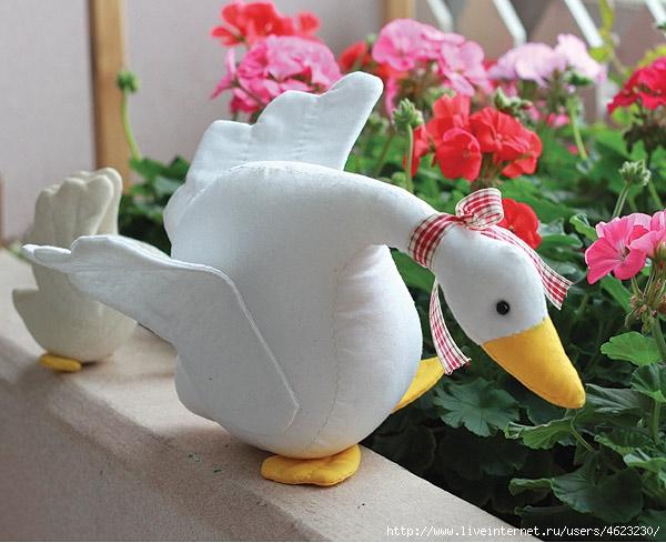 Лебедя сшить
