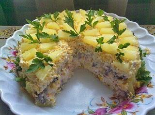 Торт-салат «Чудо-слойка». (320x238, 34Kb)
