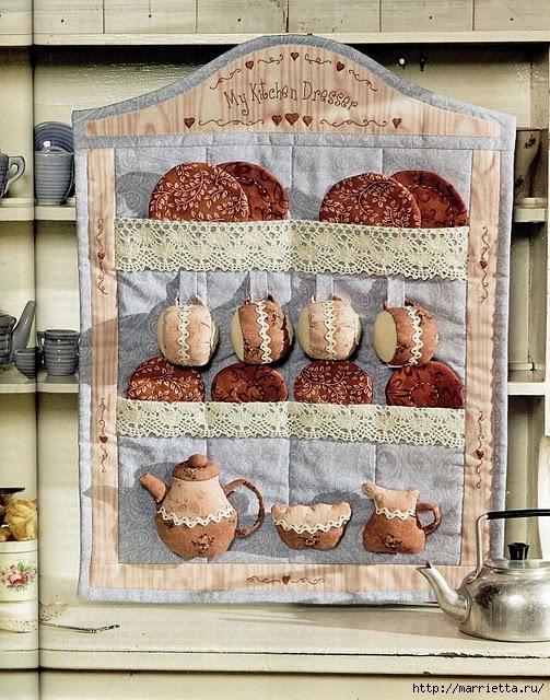 Пэчворк. Лоскутное панно для кухни (1) (503x640, 317Kb)