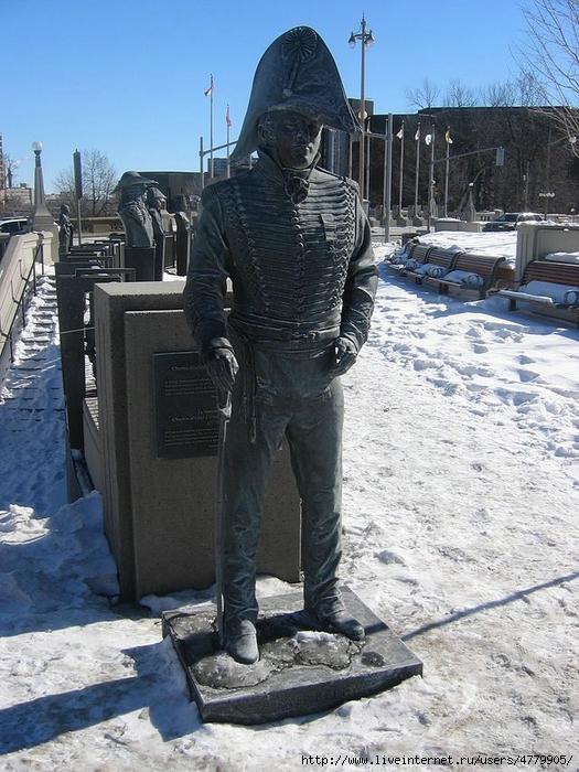 05 Charles_Michel_d'Irumberry_de_Salaberry_statue (525x700, 322Kb)
