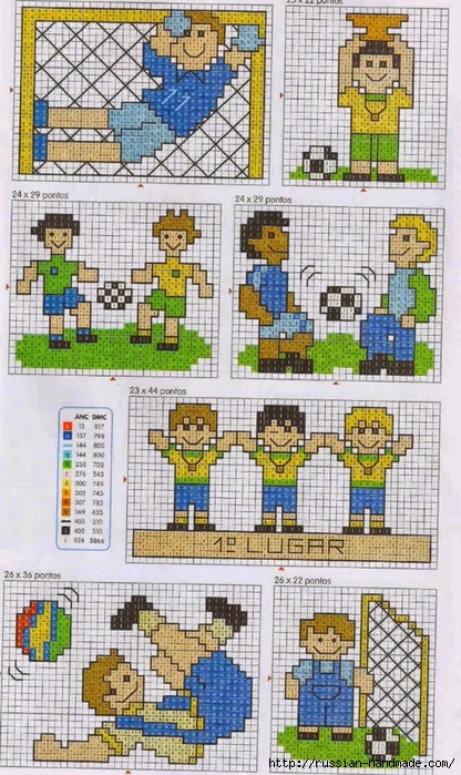 Детская вышивка. ФУТБОЛИСТЫ (6) (416x700, 319Kb)