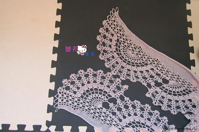 Нежный ажурный шарфик (5) (700x464, 323Kb)
