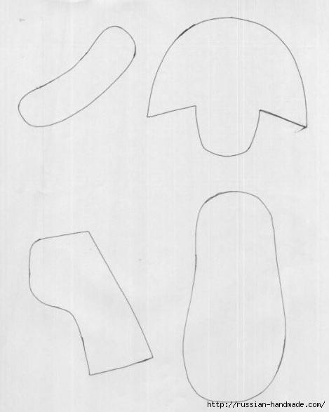 Шьем из старых джинсов детские туфельки. Выкройка (1) (469x587, 84Kb)