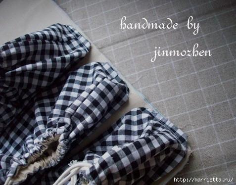 Costura.  Uma variante interessante das bolsas de estrada, sacos de cosméticos (5) (477x374, 127KB)