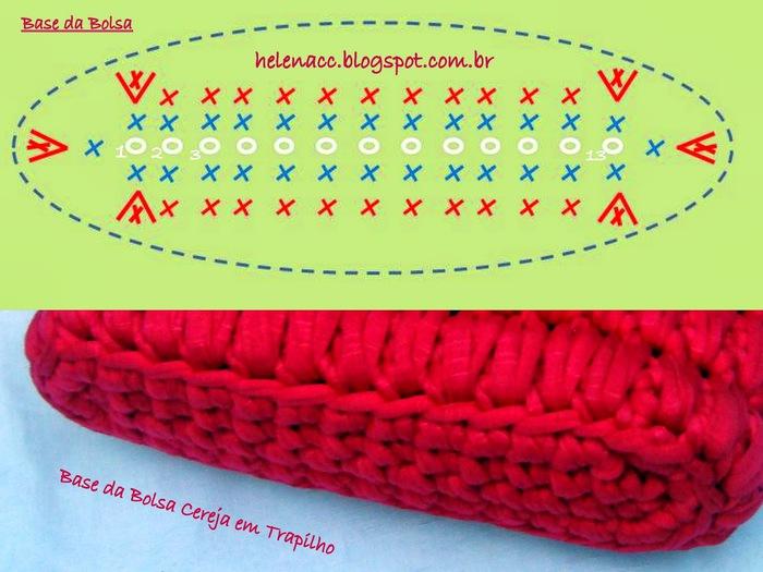 Вязание крючком из ленточной трикотажной пряжи