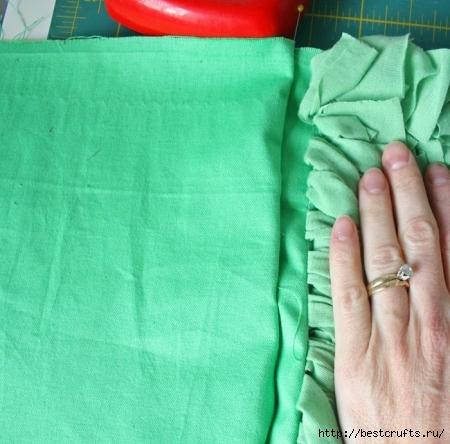 Дизайнерская подушка своими руками (16) (450x444, 157Kb)