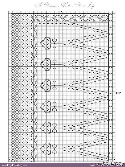 Игольница из статуэтки. Схема вышивки (4) (525x699, 338Kb)