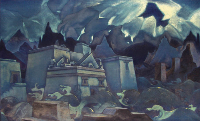 Gibel-Atlantidy-by-Nicholas-Roerich (700x425, 311Kb)