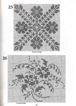 ������ 101 Filet Crochet Charts 21 (505x700, 301Kb)