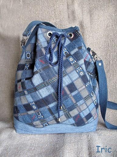 Рюкзак своими руками из старых джинсов