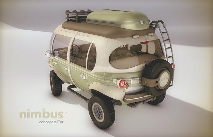 электромобиль Nimbus фото 2 (700x450, 140Kb)
