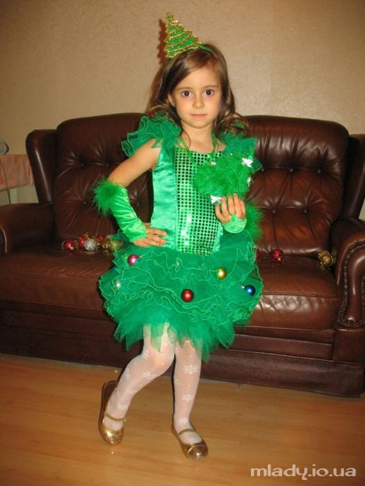 Костюм новогодние для девочек своими руками