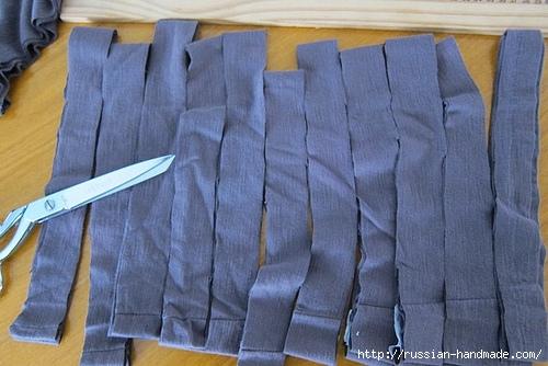 Коврики и подушки из старых футболок (18) (500x334, 136Kb)