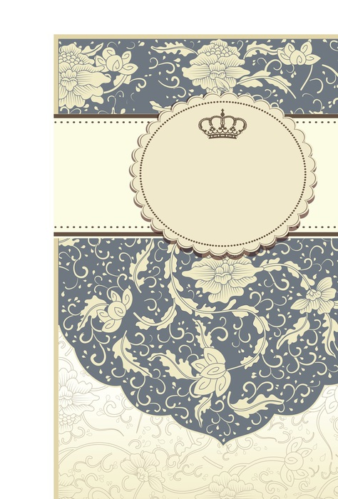 Vintage ornament crown eagle design elements vector (4)4566 (474x700, 124Kb)