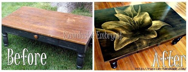 Три варианта переделки мебели. Декорирование журнального столика (20) (620x239, 147Kb)
