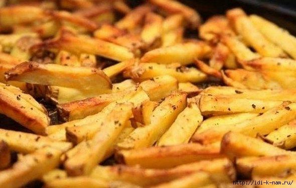 как приготовить картофель фри в духовке. рецепт картофеля фри в духовке, Хьюго Пьюго картофель фри,