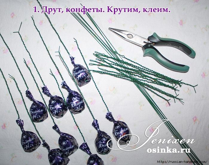 Свит-дизайн. Новогодняя подвеска из конфет (1) (699x551, 340Kb)