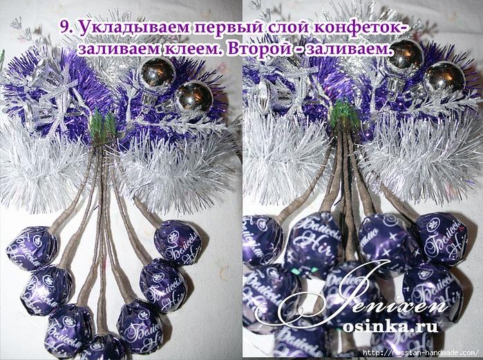 Свит-дизайн. Новогодняя подвеска из конфет (8) (699x522, 443Kb)