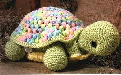 вязаная черепаха, как связать черепаху, схема вязания чероепахи, Хьюго Пьюго вязаная черепашка,