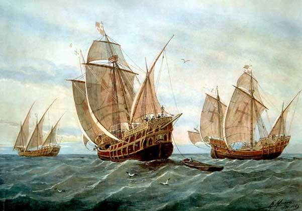 корабли колумба (601x420, 33Kb)