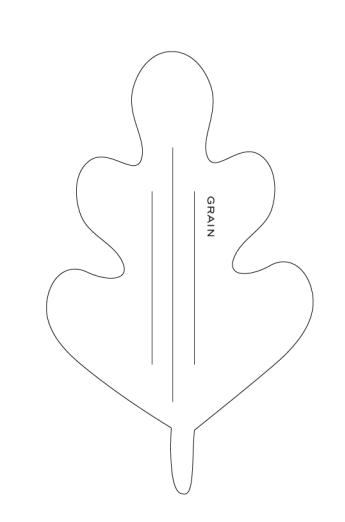 ЖЕЛУДИ из креповой бумаги. Шаблон и мастер-класс (3) (345x522, 17Kb)