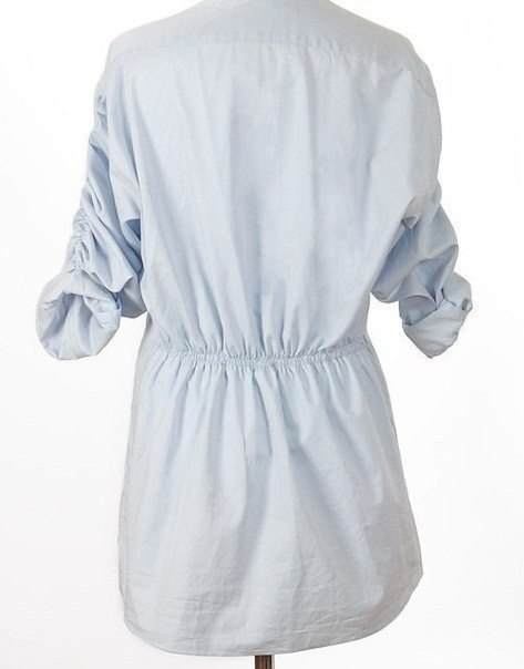 туника из мужской рубашки7 (473x604, 75Kb)