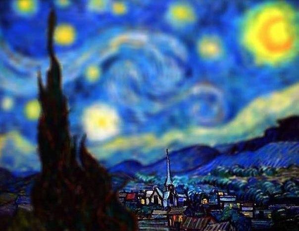 Картины Ван Гога с эффектом tilt-shift6 (604x466, 232Kb)