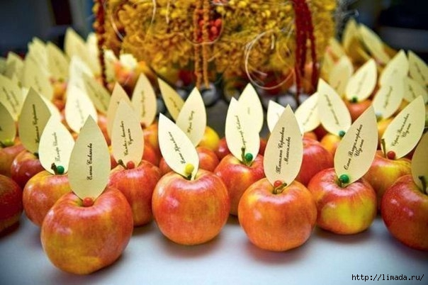diy-thanksgiving-table-decorations-apples-place-cards (604x402, 143Kb)